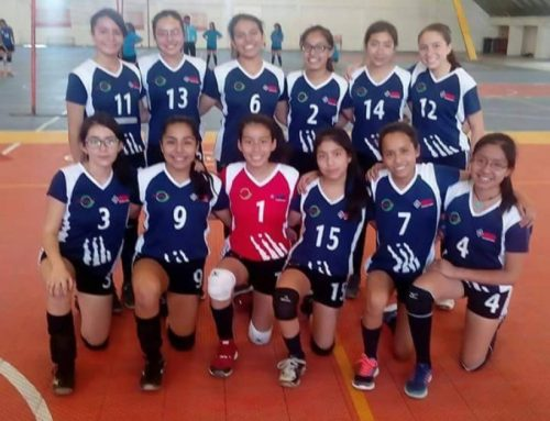 Eliminatoria estatal del torneo de SEP voleibol femenil secundaria