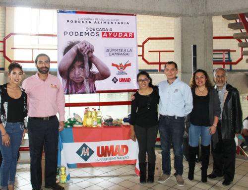 UMAD e IMM se suman a Campaña Puebla Comparte