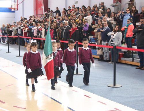 Ceremonia Cívica Aniversario de la Revolución Mexicana, Preescolar Zavaleta
