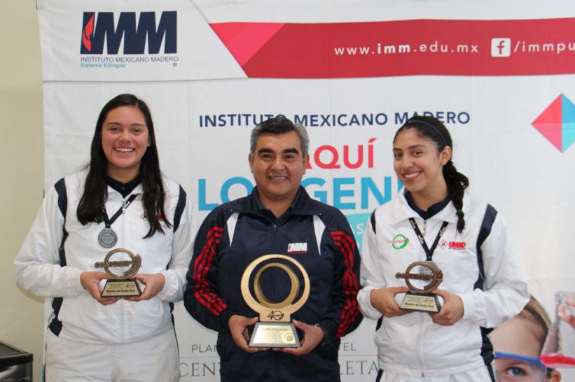 Gloria García y Sara Vega, referentes del basquetbol en IMM Zavaleta
