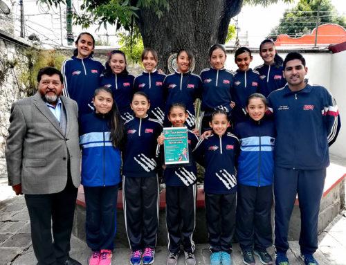 1er lugar Voleibol Primaria Femenil