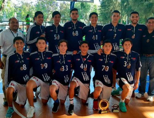 Tigres Blancos, 3er lugar nacional en basquetbol Juvenil C