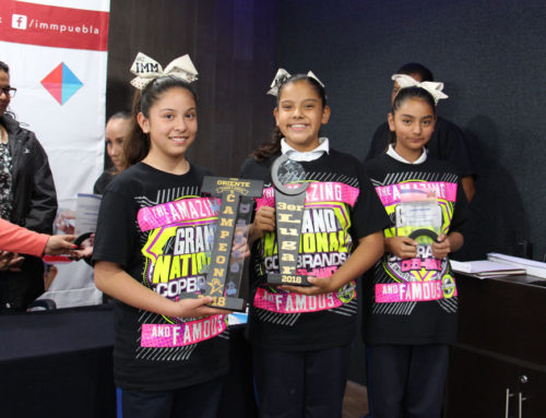 Cheerleaders de IMM Zavaleta destacan a nivel nacional