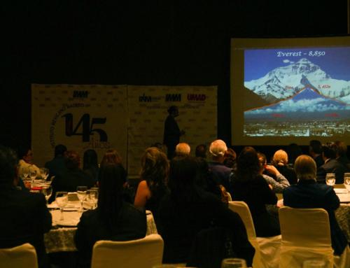 """UMAD-IMM organizó conferencia con causa """"Lecciones de vida"""""""
