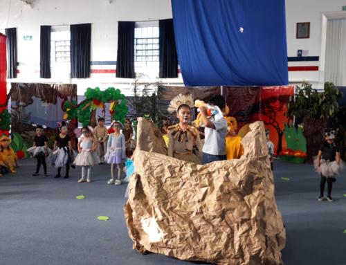 """Alumnos de Primaria Centro representaron """"El Rey León"""""""