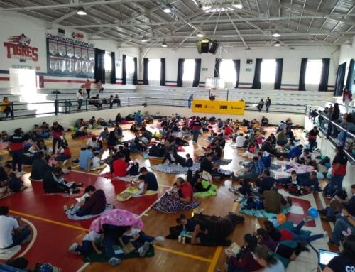 Preescolar de IMM Centro festejó a los papás con emotiva actividad