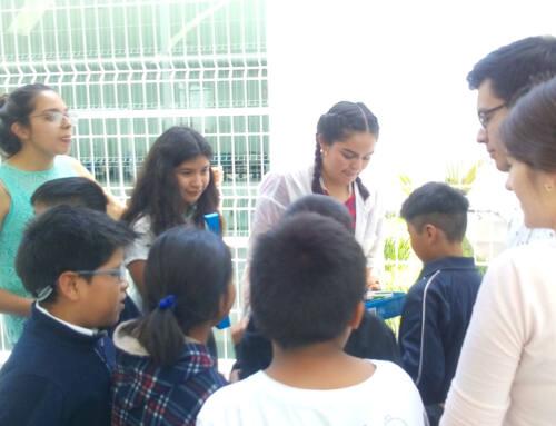 """Bachillerato IMM Centro visited the """"Centro de día"""" DIF Puebla"""