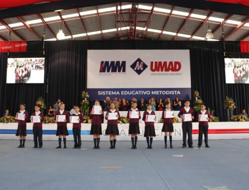 Alumnos de educación básica del IMM culminan importante etapa