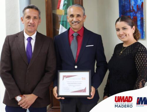 UMAD e IMM reciben reconocimiento de Banco de Alimentos Puebla
