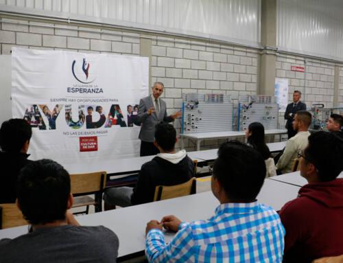 Inició en UMAD 2do curso de automatización gratuito para jóvenes