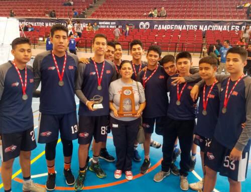 Tigres Blancos subcampeones nacionales de basquetbol Juvenil B