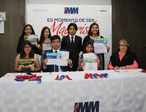 Alumnos de Bachillerato IMM participarán en eventos de ciencias internacionales