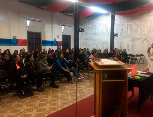 IMM Centro impartió conferencia para padres de Primaria