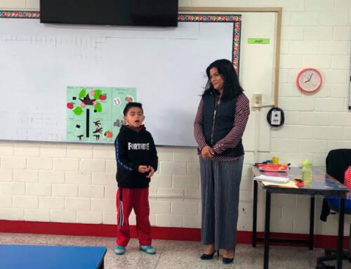 Primaria IMMZ invitó a papás a compartir un cuento o tema en inglés