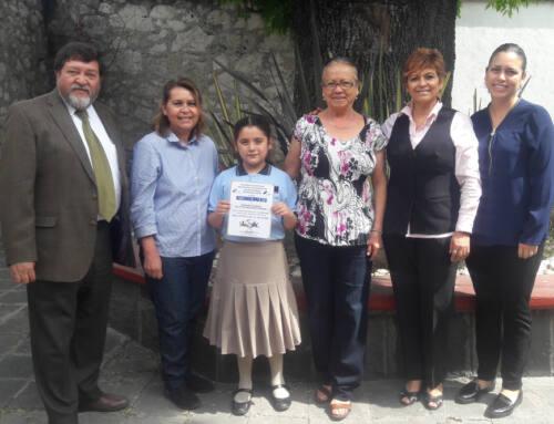 Alumna de IMM Centro destaca en el Día Estatal de la Lectura