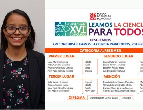 Alumna de IMM Zavaleta gana concurso a nivel nacional