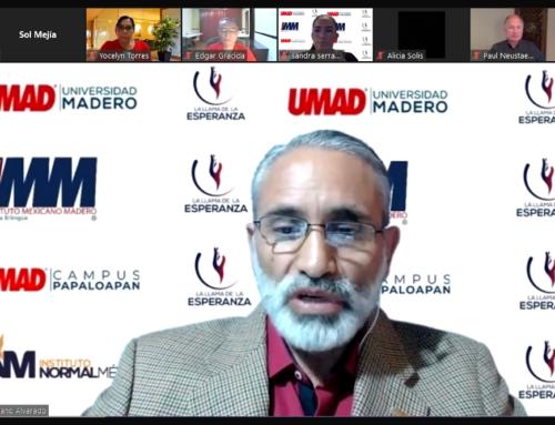 Paul Neustaedter impartió Conferencia con Causa en UMAD