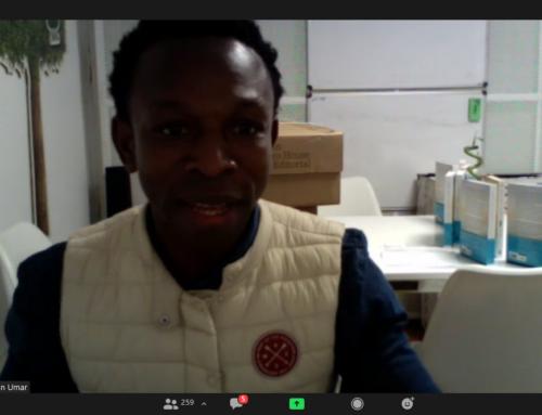 Impactante historia de vida compartió Ousman Umar en UMAD e IMM