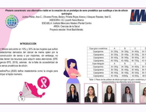 Alumnas de IMM desarrollaron proyecto de prótesis de mama