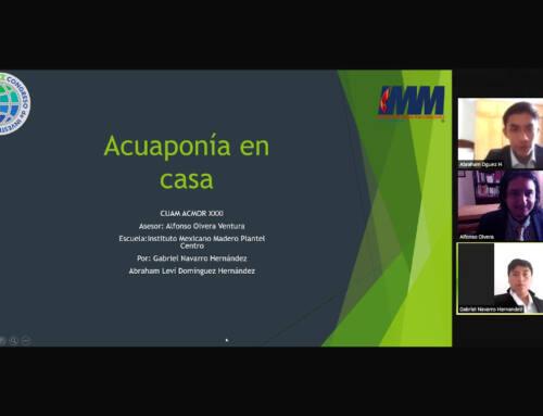 Estudiantes del IMM realizan proyecto sobre Acuaponía