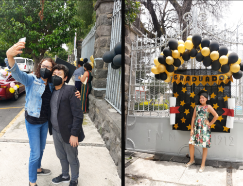 Primaria IMM celebra a sus graduados con emotiva caravana de autos